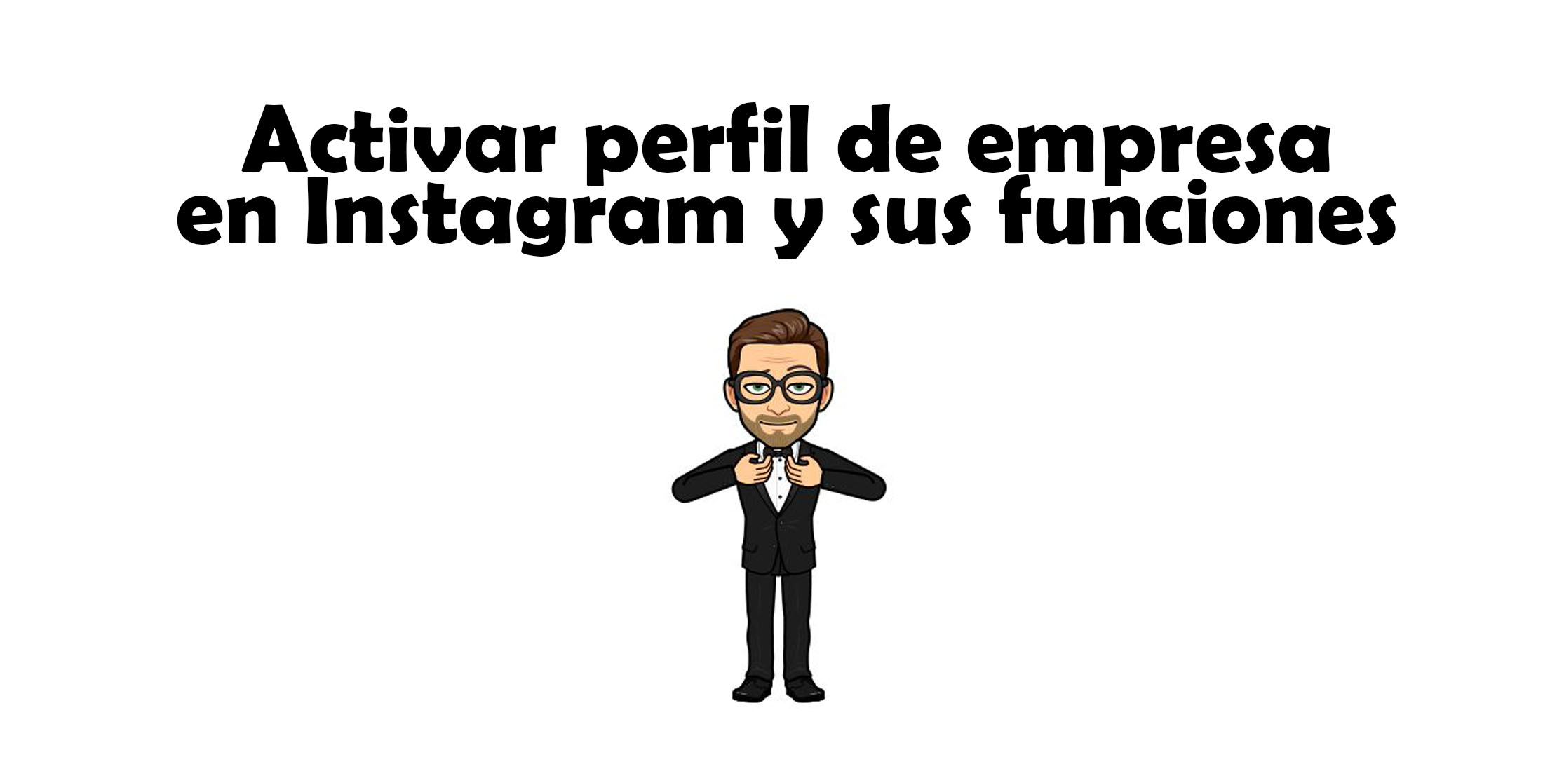 activar perfil de empresa en Instagram