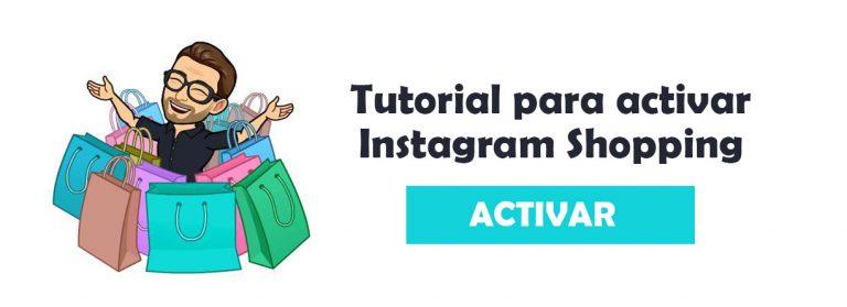 activar instagram shopping